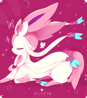 Sylveon! by purpleninfy