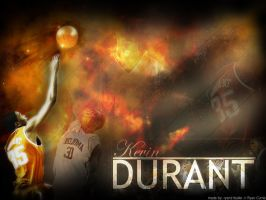 Kevin Durant by ryancurrie