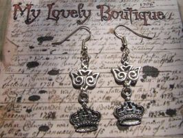 flying earrings by TheLovelyBoutique
