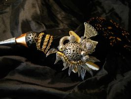 The Crow, Brooch Detail by SpiffsHexapodS