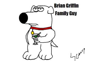 Brian Griffin familyguy by supersonicartdrawer
