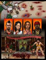 Dead Island Comic Coloured by ArtWarrior25