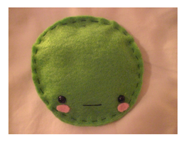 Pea Plush by pullmeoutalive