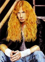 Dave Mustaine. Megadeth by Red-Szajn