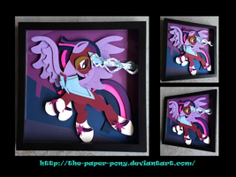 Shadowbox: The Masked Matterhorn by The-Paper-Pony