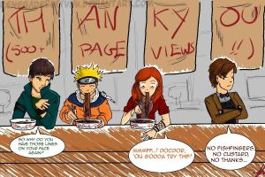 Doctor Who meets Naruto... by Renegades0fFunk