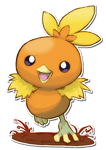 255 Torchic by SarahRichford