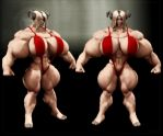 Muscled up Sheeri by Stone3D