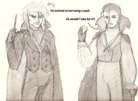 Jareth and Erik: Outfit Swap by naydshiko