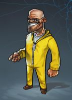 Breaking Bad: Walt by MaxGrecke