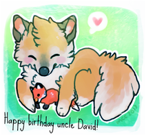 Happy birthday uncle David! v.2 by foxtribe
