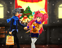 Christmas Break by Jarel-Sayalang