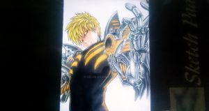 Demon Cyborg Genos [One Punch Man] by seiji0