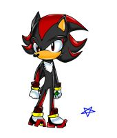 Shadow the hedgehog by redhedge1
