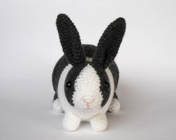 Blue Dutch bunny by LunasCrafts