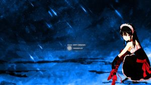 Akame Ga Kill Akame by Akw-Art-Design