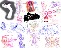 Super-Mega-Ultra ::Doodledump:: by SEGAgal