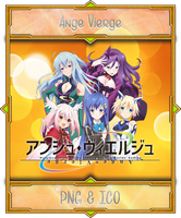Ange Vierge - Icon Folder Anime Summer 2016 by Aliceieous