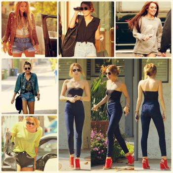 Miley Collage by Sevily