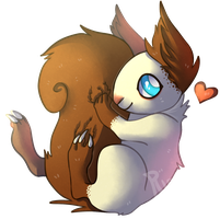 AT: Tail Huggles! by TheRiversEdge