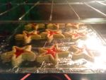 Stain glass cookies by PrincesaNamine