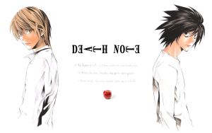 Death Note Wallpaper by killthedrummer