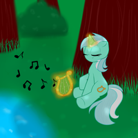 The Quiet Forest - Collab with GypsyCuddles by TastyPony