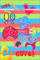 Kawaii Png Pack 1 by Thoxiic-Editions
