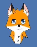 Fox example by glowy-colors-lova-8D