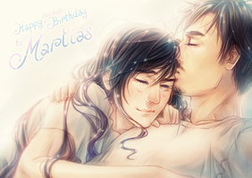 Happy Birthday to Martias by seirenity