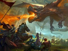 War against Dragon by ZhangQipeng