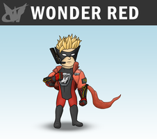 SSB4 - Wonder Red by Antonator