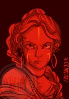 Meirut in RED by eliort
