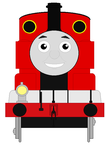 My Trainsona (Front view) by Levelup331