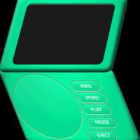 Animated Portable DVD Player by Shortstuff81000