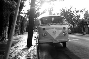 VW Bus On FIlm by Scottmettsphoto