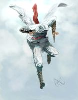 Altair: Leap of Faith by JawadSparda