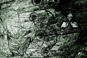 Mitsubishi Wallpaper by RedAndWhiteDesigns