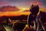 Sky at Dusk by Maexis