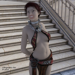 Hot Slave In The City by LithographicDan