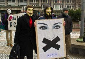 ACTA protest by thio27