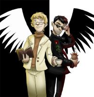 Good Omens by rhianimated