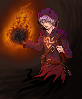 Infernal Warlock by Sarcallow