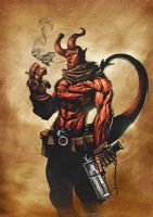 Hellboy by BrianFajardo