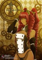 Niebla Steampunk- Gold by Katzyrine