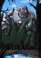 Giant Robot by pilehh
