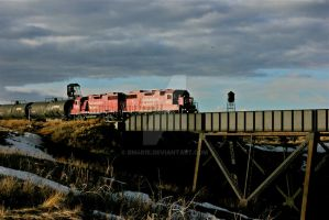 Freight on its Way by BMarie93
