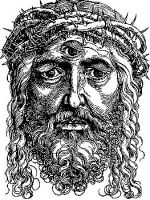 Christ with a 3rd eye by gromyko