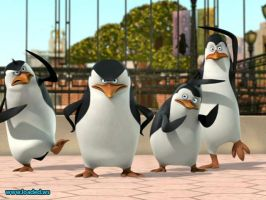 penguins of madagascar by saturnmarsjuipter