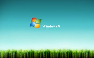 Windows 8 grass by Faisalharoon
